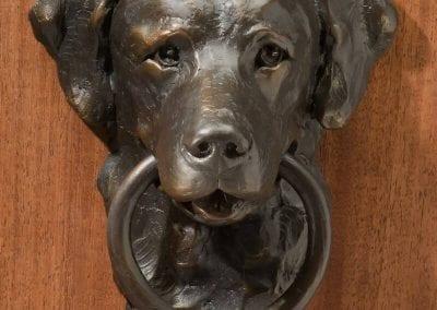 Labrador Doorknocker